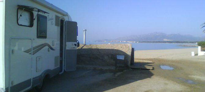 Le aree sosta e i campeggi in Spagna