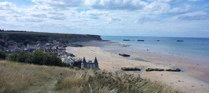 Normandia in camper : le coste dello sbarco