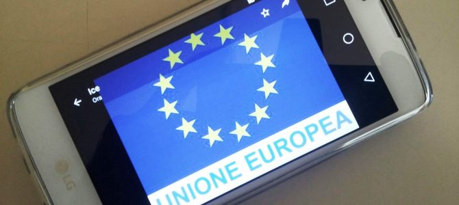Telefonia e utilizzo del roaming in Unione Europea